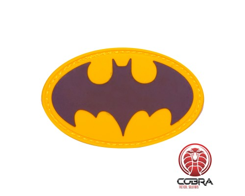 Batman Gold film cosplay PVC patch met velcro