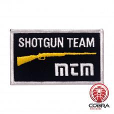 Shotgun team MTM Case Gard geborduurde patch | Strijkpatches | Military Airsoft