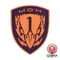 Medal Of Honor Task Force Blackbird Game PVC patch bruin met velcro