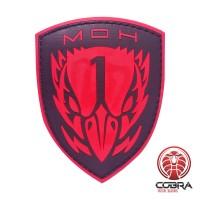 Medal Of Honor Task Force Blackbird Game PVC patch rood met velcro