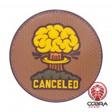 Canceled A-Bom PVC patch met velcro