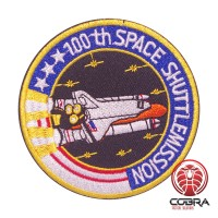 100th Space Shuttle Mission Nasa geborduurde iron on patch