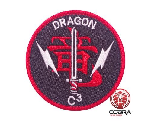 VMM-265 DRAGONS C3 MEU USMC MARINE CORPS MV-22 OSPREY Squadron Geborduurde militaire Patch met klittenband