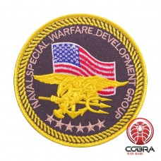 Naval Special Warfare Development Group US Marines Corps military Geborduurde militaire Patch met klittenband
