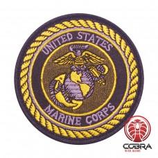 United Stated Marine Corps military Geborduurde militaire Patch met klittenband