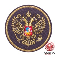 Russian Federation Crest geborduurde patch | Strijkpatches | Military Airsoft