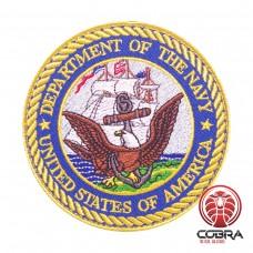 Department of the Navy - United Stated Of America Geborduurde militaire Patch met klittenband