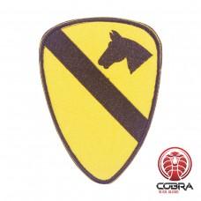1ST Cavalry Division Association Geborduurde militaire Patch met klittenband