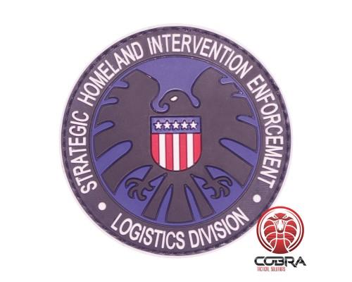 Strategic Homeland Intervention Enforcement - Logistics Division PVC Patch met klittenband