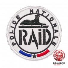 Police Nationale Raid French Anti terror unit Geborduurde Patch met klittenband