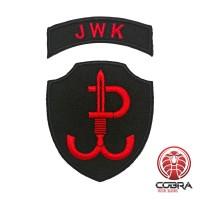 Jednostka Wojskowa Komandosów JWK Polish Special Forces Geborduurde militaire Patch met klittenband