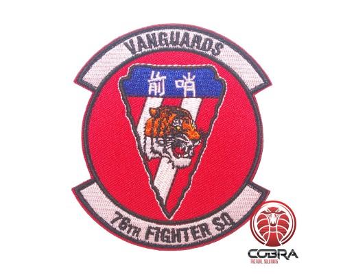 Vanguards 76th Fighter SO Geborduurde militaire Patch met klittenband