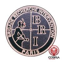 BRI Brigade Recherche Intervention Paris Geborduurde militaire Patch met klittenband