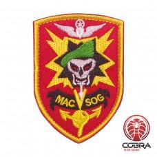 MAC SOG Vietnam Geborduurde militaire Patch met klittenband