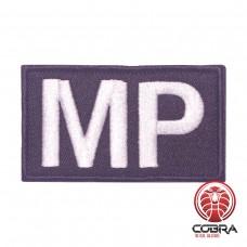 MP Military Police zwart Geborduurde militaire Patch met klittenband