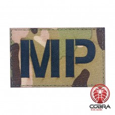 MP Military Police Camo Fluorescent Geborduurde militaire Patch met klittenband