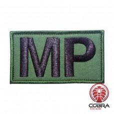 MP Military Police groen Geborduurde militaire Patch met klittenband