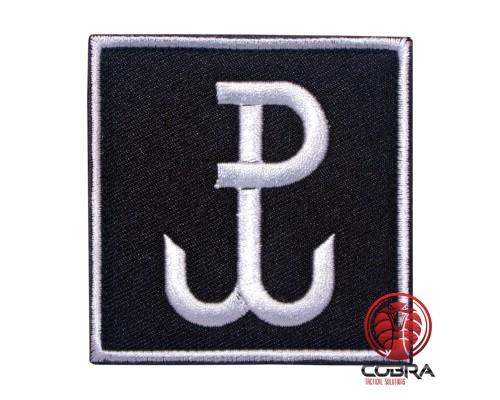 Jednostka Wojskowa Komandosów JWK Polish Special Forces Geborduurde militaire zwarte Patch met klittenband