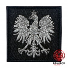 Eagle Austria zwart Geborduurde militaire Patch met klittenband