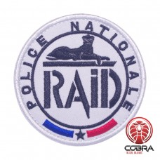 Police Nationale Raid French Anti terror unit Geborduurde militaire Patch met klittenband