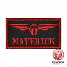 Maverick Top Gun Flight Geborduurde militaire Patch met klittenband