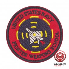 United Stats Navy Fighter Weapons School Geborduurde militaire Patch met klittenband