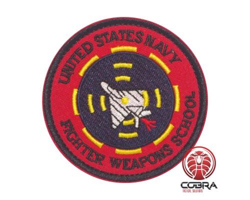 United Stats Navy Fighter Weapons School Geborduurde militaire Patch met klittenband