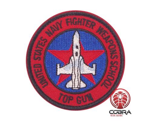 United Stats Navy Fighter Weapons School TOP GUN Geborduurde militaire Patch met klittenband