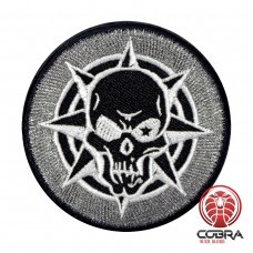 Crossfire Headshot Kill Icon Cosplay wit Geborduurde Patch met velcro