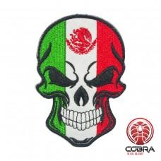 Skull Flag Italie Geborduurde militaire Patch met klittenband