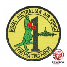 Royal Australian Air Force The Fighting First geborduurde patch | Opnaai  | Military Airsoft