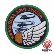Arizona Army Aviation US geborduurde patch | Opnaai  | Military Airsoft