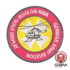 German Army Aviation MBB-BO105M-SOLO Display geborduurde patch | Opnaai  | Military Airsoft