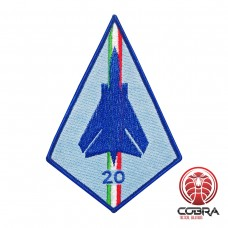 Tornado Italian Flight geborduurde patch | Opnaai  | Military Airsoft