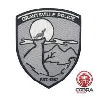 Grantsville Police Est. 1887 geborduurde patch | Strijkpatches | Military Airsoft