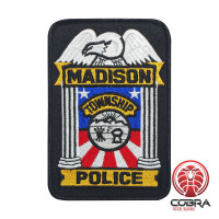 Madison Police Township geborduurde patch | Strijkpatches | Military Airsoft