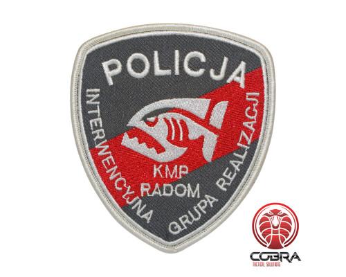 Policija Kmp Radom geborduurde patch | Vastnaaien | Military Airsoft
