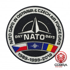 Dny NATO Days geborduurde patch | Opnaai  | Military Airsoft