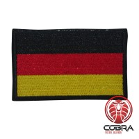Duitsland Duitse vlag geborduurde militaire patch met klittenband