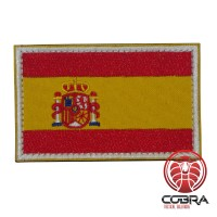 Vlag Spanje geborduurde patch | Strijkpatches | Military Airsoft