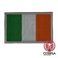 Ierland Ierse vlag geborduurde militaire patch met klittenband