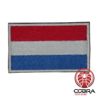 Luxemburg Luxemburgse vlag geborduurde militaire patch met klittenband