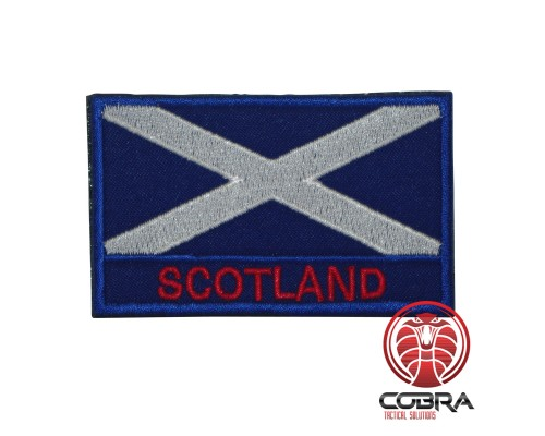 Schotland Schotse vlag geborduurde militaire patch met klittenband