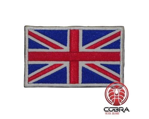 Verenigd Koninkrijk vlag geborduurde militaire patch met klittenband