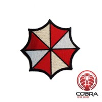 Umbrella Corporation Logo - Resident Evil geborduurde Patch met velcro