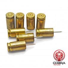 Push Pins 9mm Luger Brass - 8 stuks