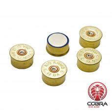 Magneten Cal. 12 - Brass (5 per pack)