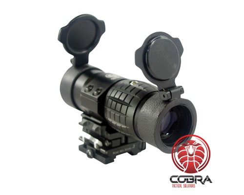 COPPERHEAD 3x Magnifier with Quick Flip to side mount