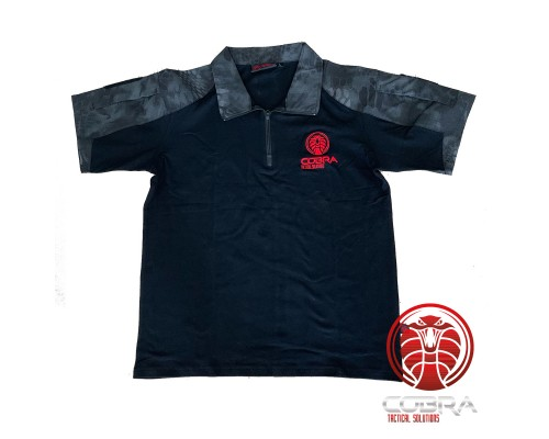 FENRIR Assault Combat Shirt | Short sleeves | Python camo | Rapid Half-Zip
