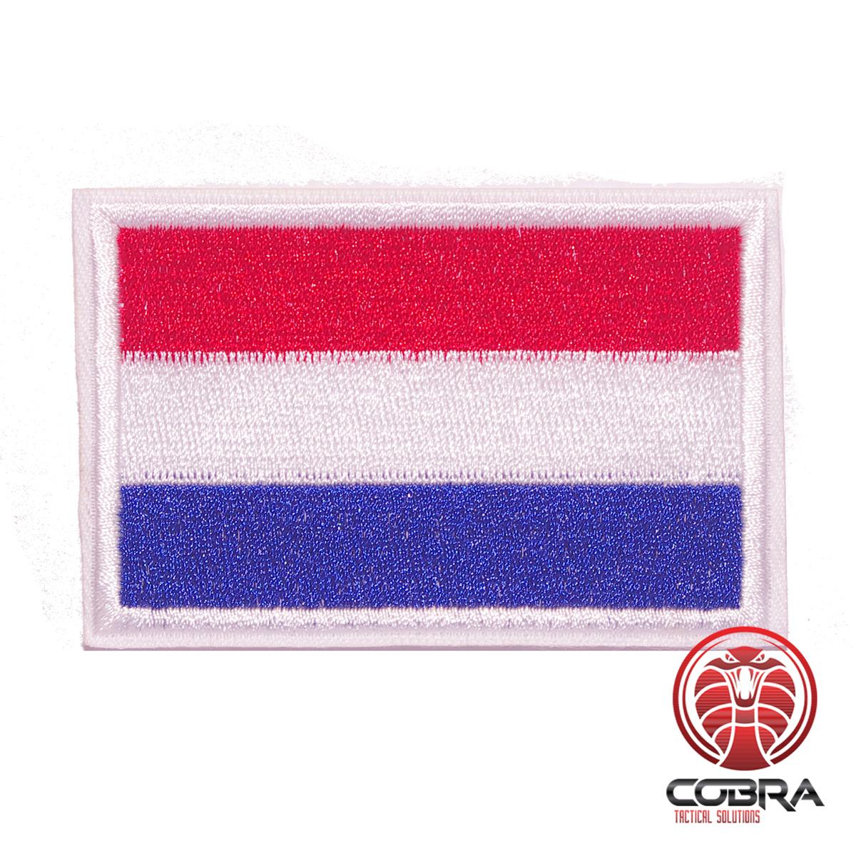 Flag Patches HOLLAND Flag countries Iron on Patch Patches Applique embroidery /Écusson brod/é Vest Drapeau Hollande